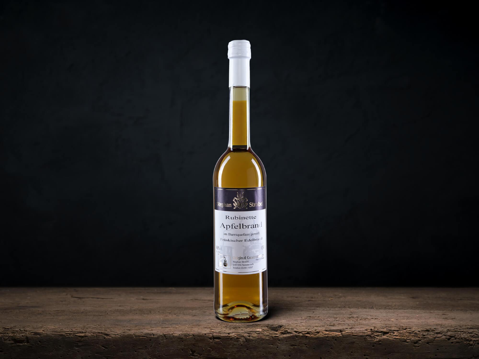 Destillat-Rubinette-Apfelbrand